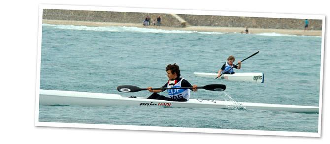 Kayak enfant ado à Marseille
